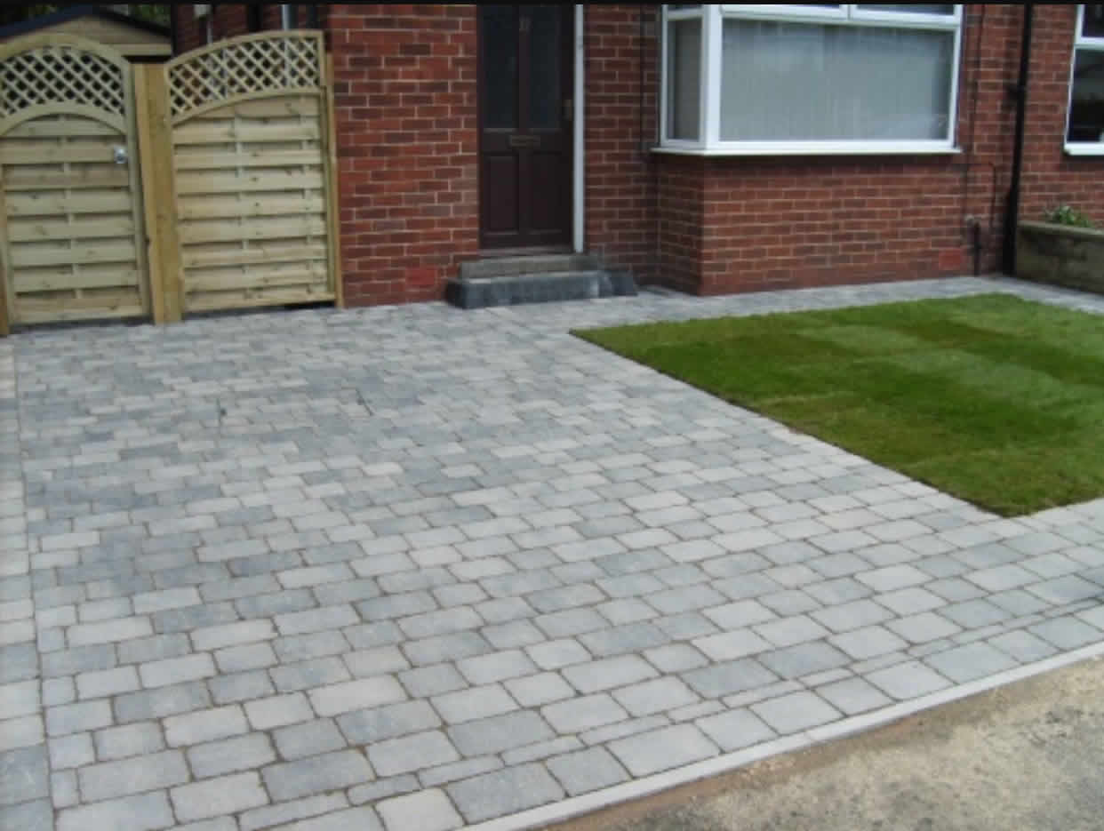 South Marston block paving driveway installer