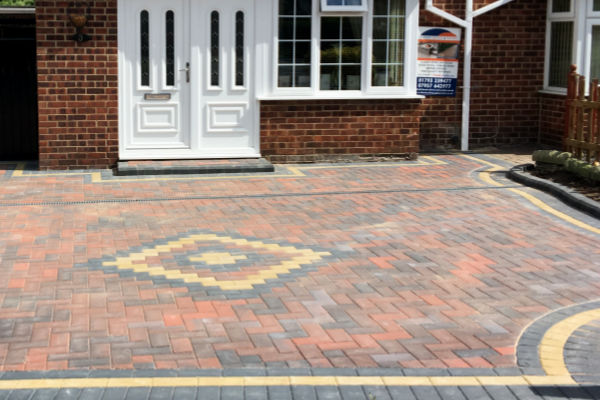 Block paving driveway contractors South Marston