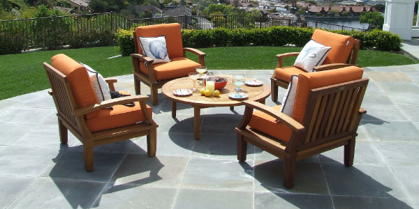 Blunsdon natural stone patio installers